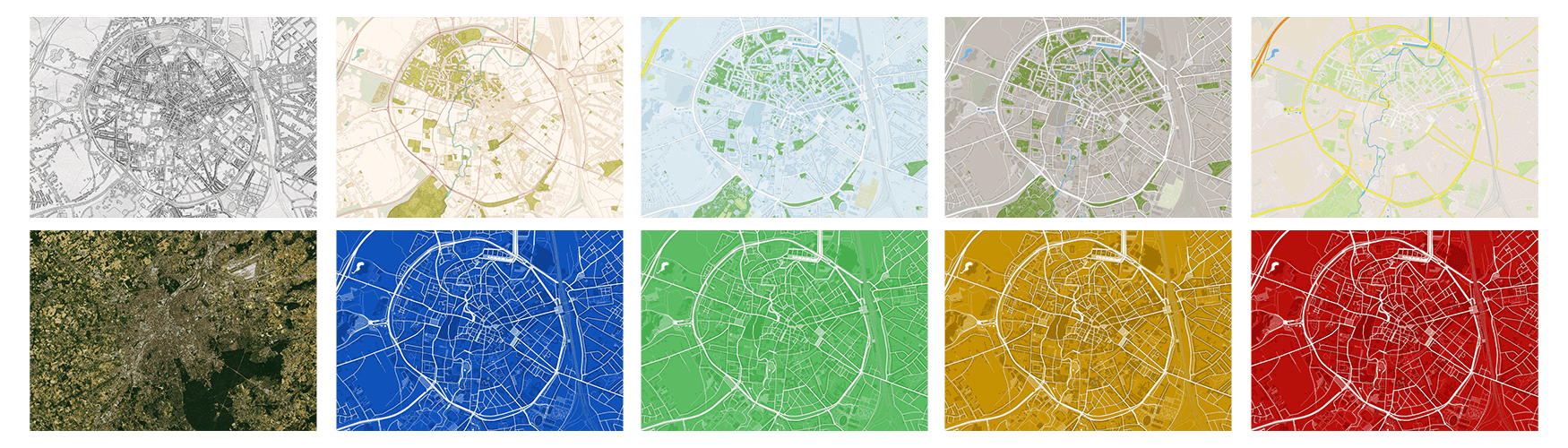 city map designs