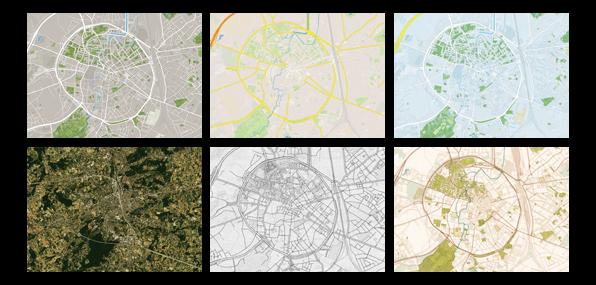 plattegrond - stadsplattegrond
